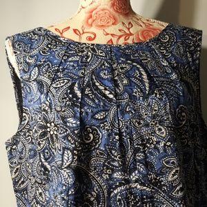 Ladies talbots blouse size 14